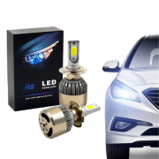 Lampada Led R8 Headlight H4 6500k