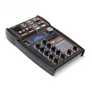 Mesa De Som Automotivo Expert Mx Player Usb Bluetooth Mixer