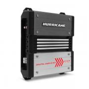 Amplificador Hurricane H 1.8K Digital 1800W RMS 1 Canal 2 Ohms Stereo Mono