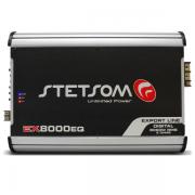Módulo Amplificador Stetsom Ex8000 EQ 1 Canal 1 Ohm