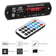 Placa MP3 Player Usb/Sdcard/Aux/Bluetooth Com controle
