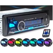 RADIO MP3 BLUETOOTH USB SD CARD FRENTE DESTACAVEL CONTROLE REMOTO