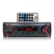 Rádio Mp3 Player Automotivo H-tech Ht-1020 Bluetooth/Usb/Sd Micro/Aux