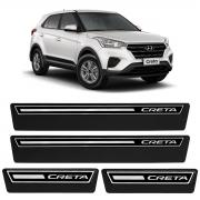Soleira de Porta Adesiva Premium Hyundai Creta