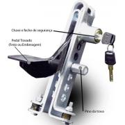 Trava Antifurto De Pedal Acelerador Freio Ou Embreagem Mult