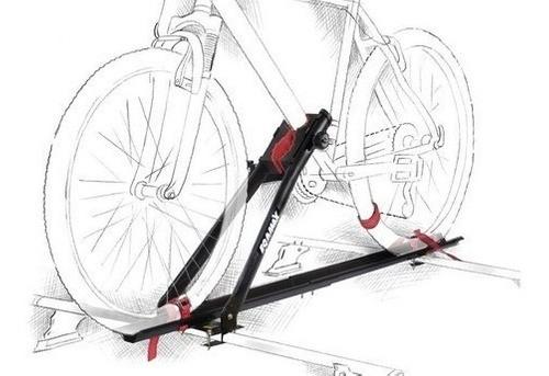 2 Suportes Transbike Eqmax Velox + Rack Teto Onix