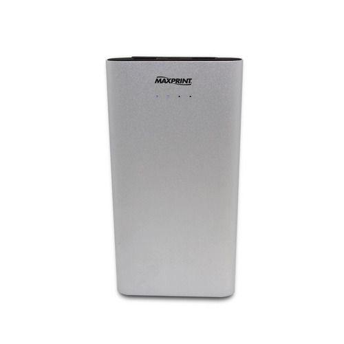 Bateria Portátil Maxprint Power Bank Dual Alumium 12000mah