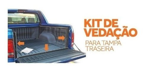 Kit Vedacao Tampa Tras. Amarok/hilux 2015 Frontier 2017 K759