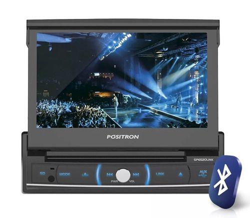 Dvd Sem Leitor Retratil De 7 Positron Sp6520link Bt/usb/sd