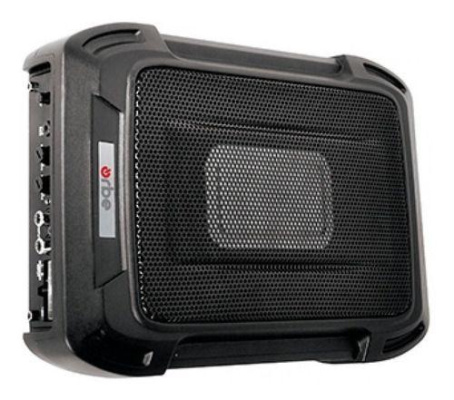 "CAIXA COM SUB 6x8"" ORBE - OSW-9SQ Slim Amplificada 120W"