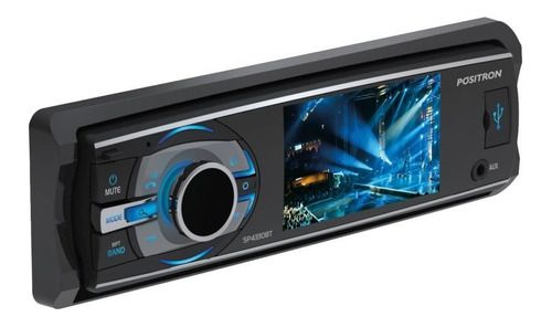 Dvd Player Positron 3 Sp4330bt C/ Bluetooth Usb/aux/sd 1din