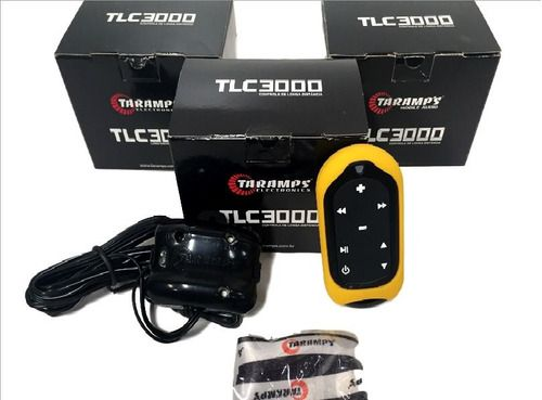 Controle Longa Distância Taramps Tlc3000 Amarelo