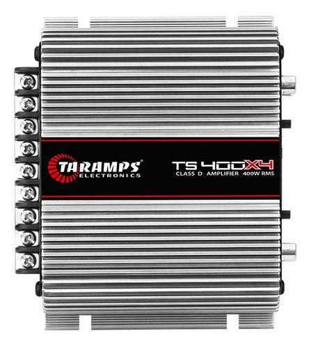 Módulo Amplificador Taramps  Ts400 watts Classe D 4 canais 100W RMS