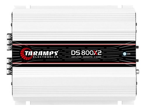 Módulo Amplificador Taramps Ds 800x2 800w 2 Canais 400w Rms