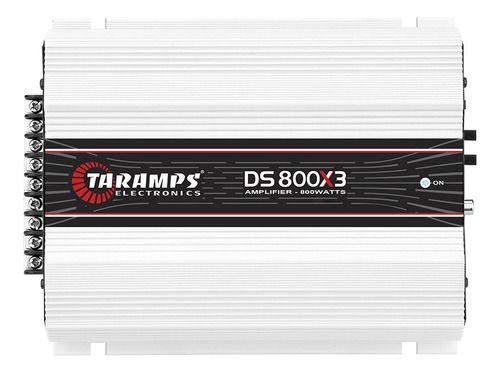 Módulo Amplificador Taramps Ds 800x3 800w 1 Canal 400w 2 Canais 200w