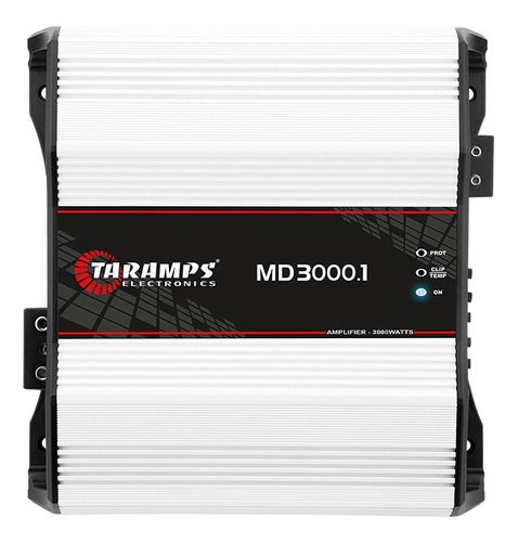 Modulo Taramps Md 3000.2 2 Ohm 3000w Amplificador Automotivo