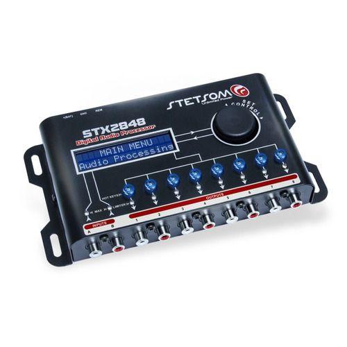 Processador De Audio Automotivo Stetsom Stx2848