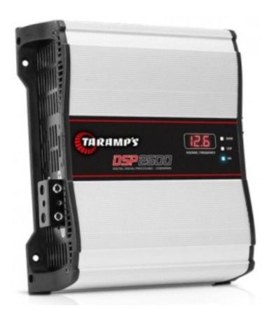Módulo Amplificador Taramps Dsp2500 Digital 2500w 1 Ohm