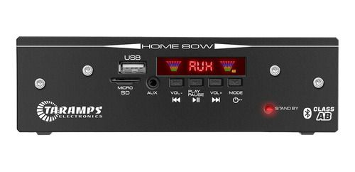 Modulo Amplificador Taramps Home 80 Bluetooth Usb Cartao Sd