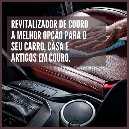 Revitalizador De Couro Banco Automotivo 120g Luxcar 3 Em 1