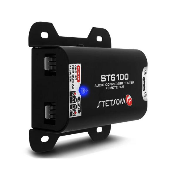 Adaptador Fio Conversor Remoto Auxiliar RCA Stetsom ST 6100