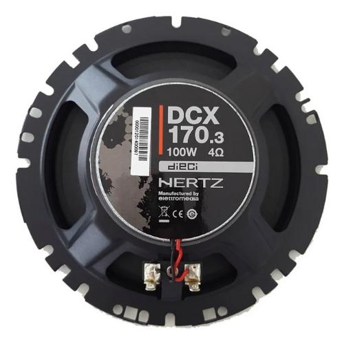 Alto Falante Coaxial Hertz Dieci 6,5 - Dcx 170.3 100W