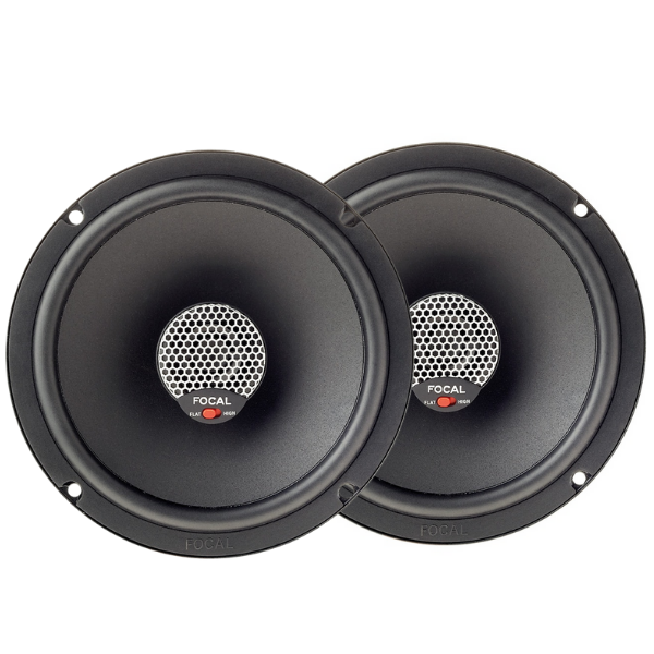 "Alto Falante Focal Integration Coaxial 6"" Icu 165 140/70W Rms"
