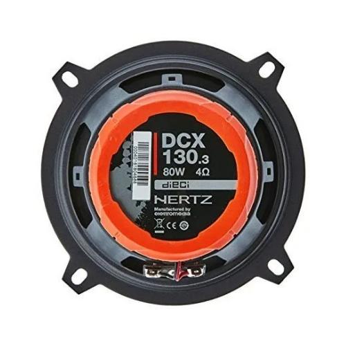 Alto Falante Coaxial Hertz Dieci 5 - DCX 130.3 80W