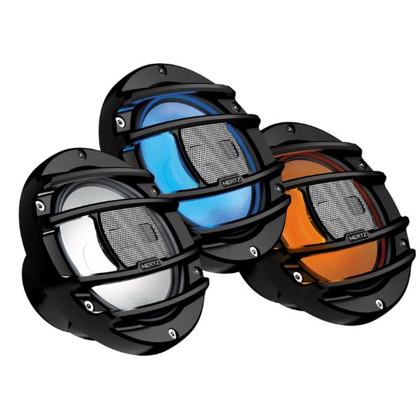 Alto Falante Marinizado Hertz HMX 6.5-LD Com RGB LEDs