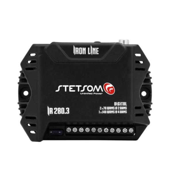 Amplificador Digital Stetsom IR280.3 280W 3 Canais 2 OHMS