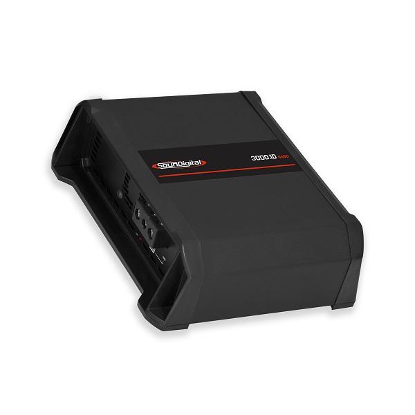 Amplificador Soundigital SD3000.1 NANO 3000WRMS 2 OHMS