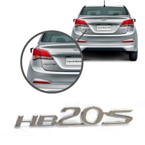 Aplique Emblema Logo Traseiro Hb20s