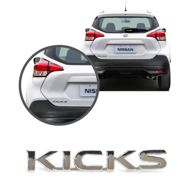 Aplique Emblema Logo Traseiro Kicks
