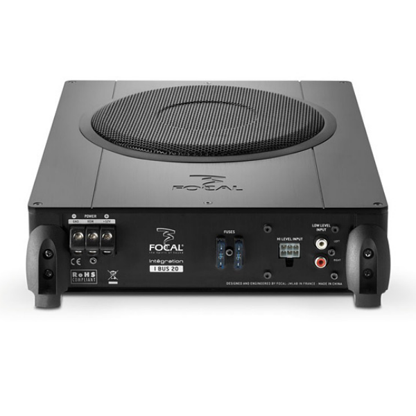 "Caixa Amplificada Slim Focal Integration 8"" I.Bus I20"