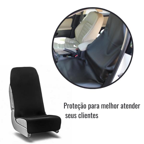 Capa Mecanico Protege Banco Motorista Preto Impermeavel