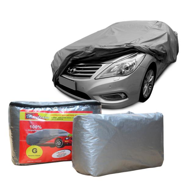 Capa Para Cobrir Carro Impermeavel Com Forro Central G
