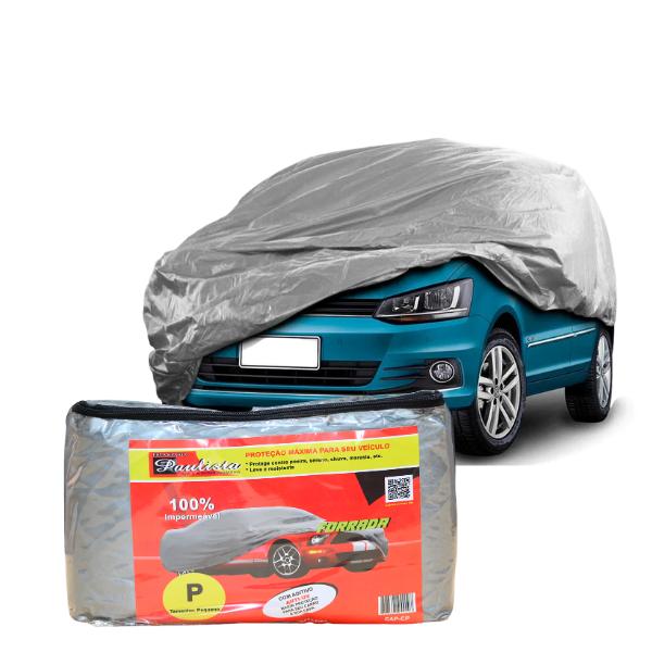 Capa Para Cobrir Carro Impermeavél Com Forro Central P