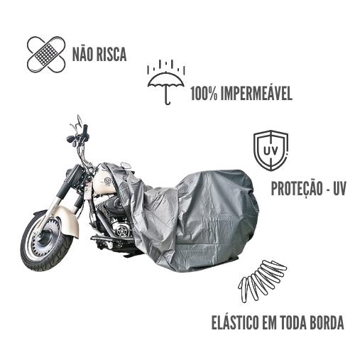 Capa Protetora Impermeável Para Motos GG