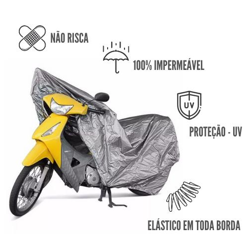 Capa Protetora Impermeável Para Motos P
