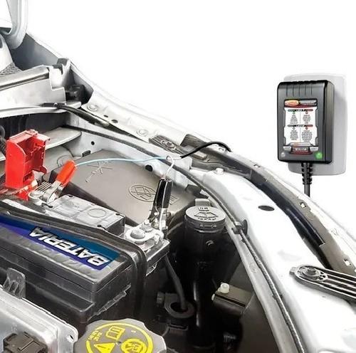 Carregador De Bateria Eletrônico Luxcar Bivolt Carro E Moto