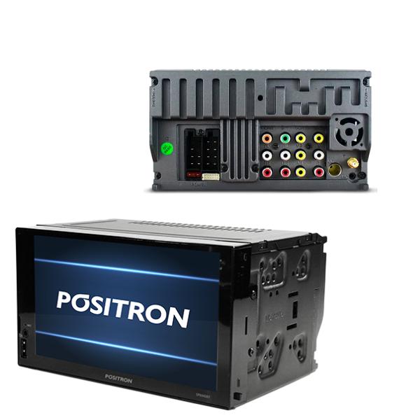 "Central Multimídia Positron 7"" SP8840DT Espelhamento/Bluetooth"