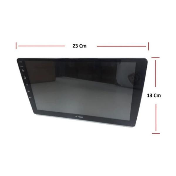 """Central Multimidia H-Tech HT-9020 9"""" USB Bluetooth Espelhamento"""