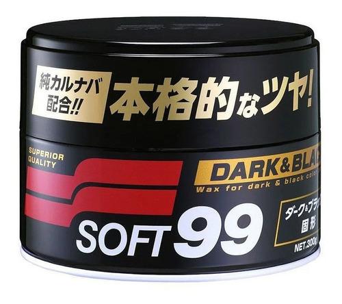 Cera Automotiva Soft99 Dark Black Paste Wax 300g Premium