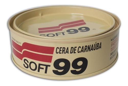 Cera De Carnaúba Soft99 All Color 100g Para Todas As Cores