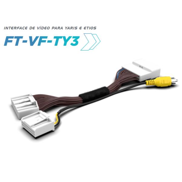 Desbloqueio De Multimídia Faaftech FT-VF-TY3 Yaris/Etios + Câmera de Ré