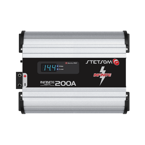 Fonte Automotiva Stetsom Infinite 200A 220V Carregador Digital