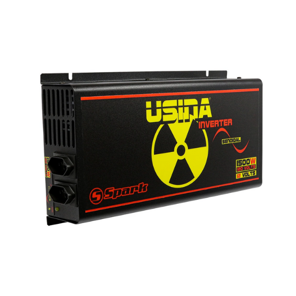 Inversor de Tensão Usina Inverter 1500W 12V 120V