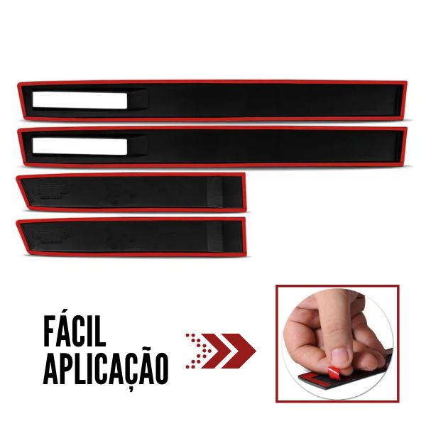 Jogo Friso Lateral Borrachão Renegade Modelo Original TopMix