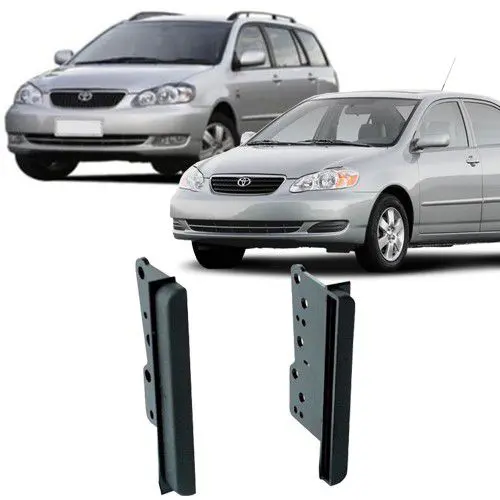 Kit Central Multimídia + Moldura Corolla 2007