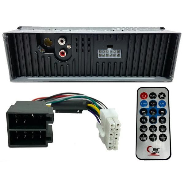 Kit Som Automotivo Radio Mp3 Bluetooth+Alto Falante 6 Hurricane